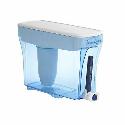 Zerowater 23 Cup Dispenser With Free Tds Meter Total Dissolved