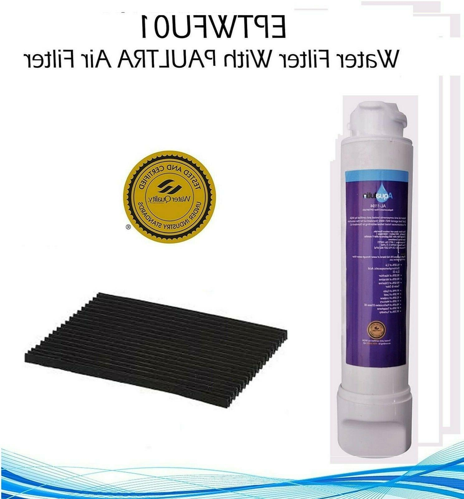 EPTWFU01 Water Filter with Free Air Filter Refrigerator