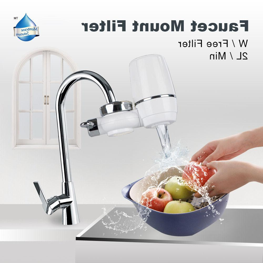 faucet mount water filter purifier for bathroom