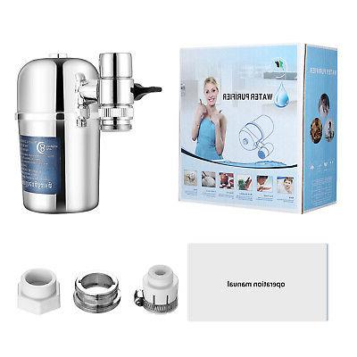 Faucet Water Kitchen Bathroom Mount Filtration