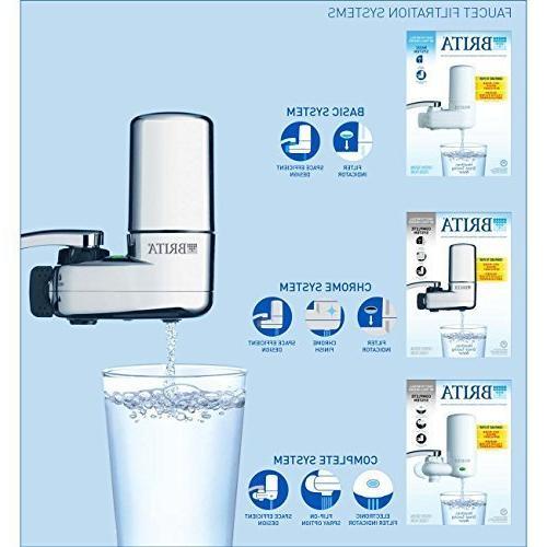 Brita Faucet System Light Chrome