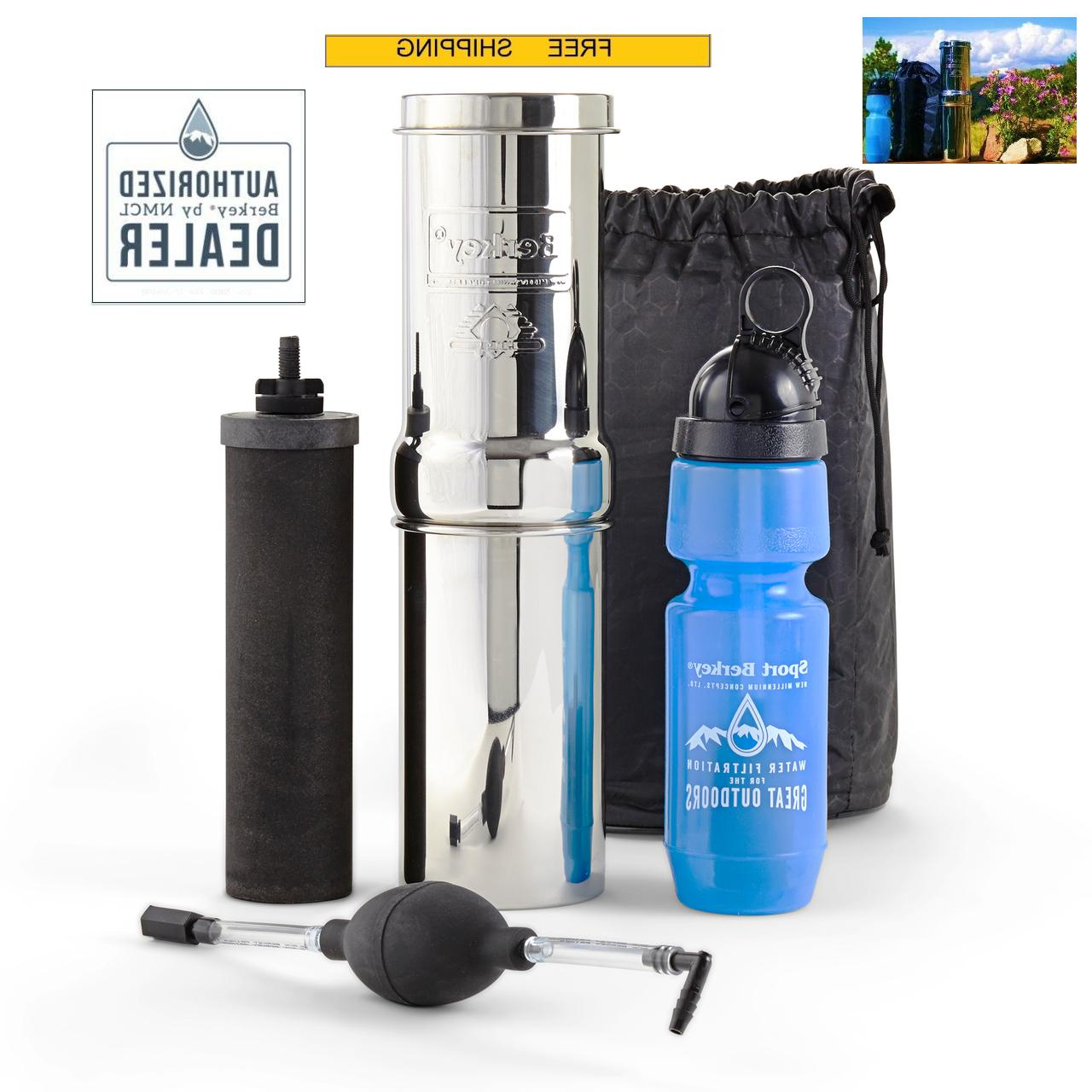 go water filter purifier kit
