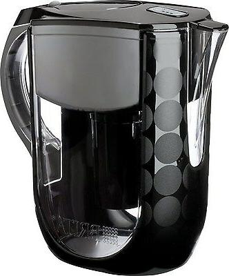 Brita Grand Pitcher, Black 10 Cups, 1 ea