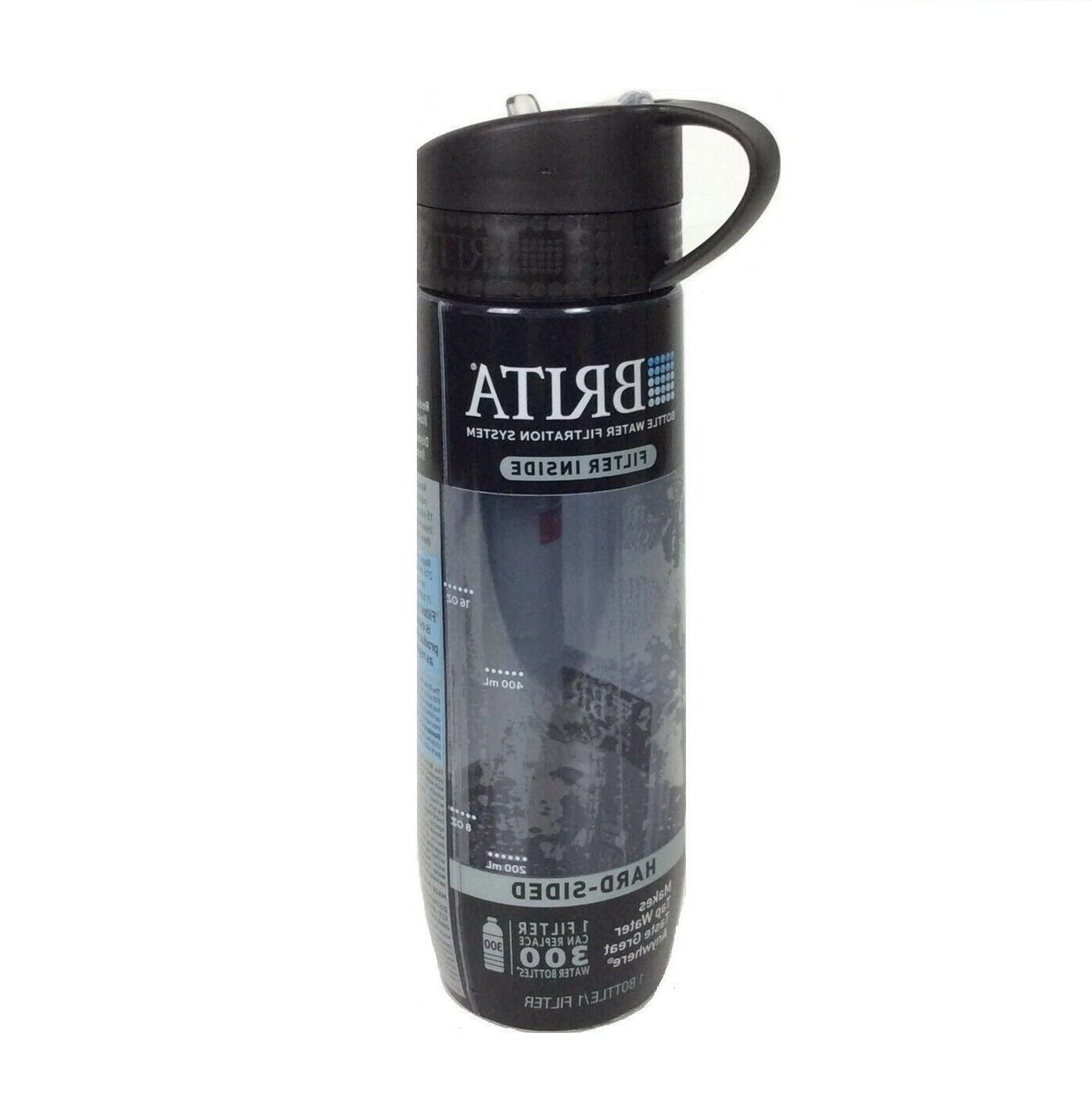hard bottle water filter system black