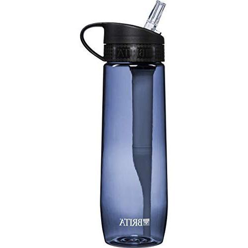 Brita Hard Sided Water Bottle Filter - Gray