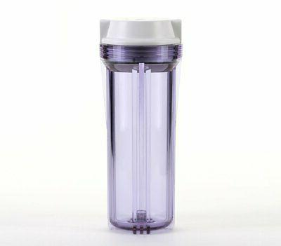 Hydronix HF2 Clear Standard 10 x 2.5 Inch Water Filter Housi