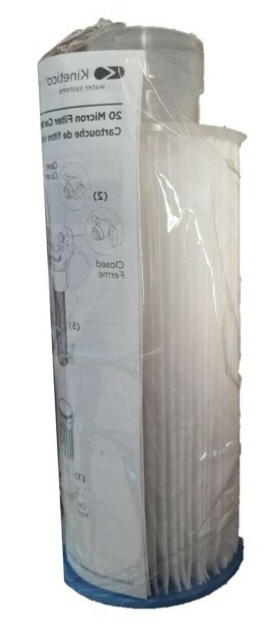 Kinetico Softener 10-inch Filter Micron