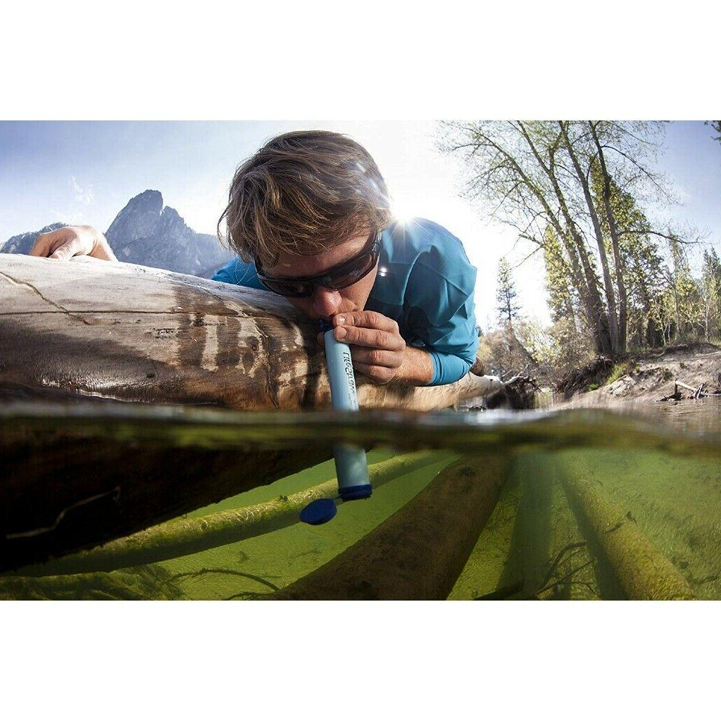 Life Straw Personal Water Filter 1 Pack Hiking Camping Trave