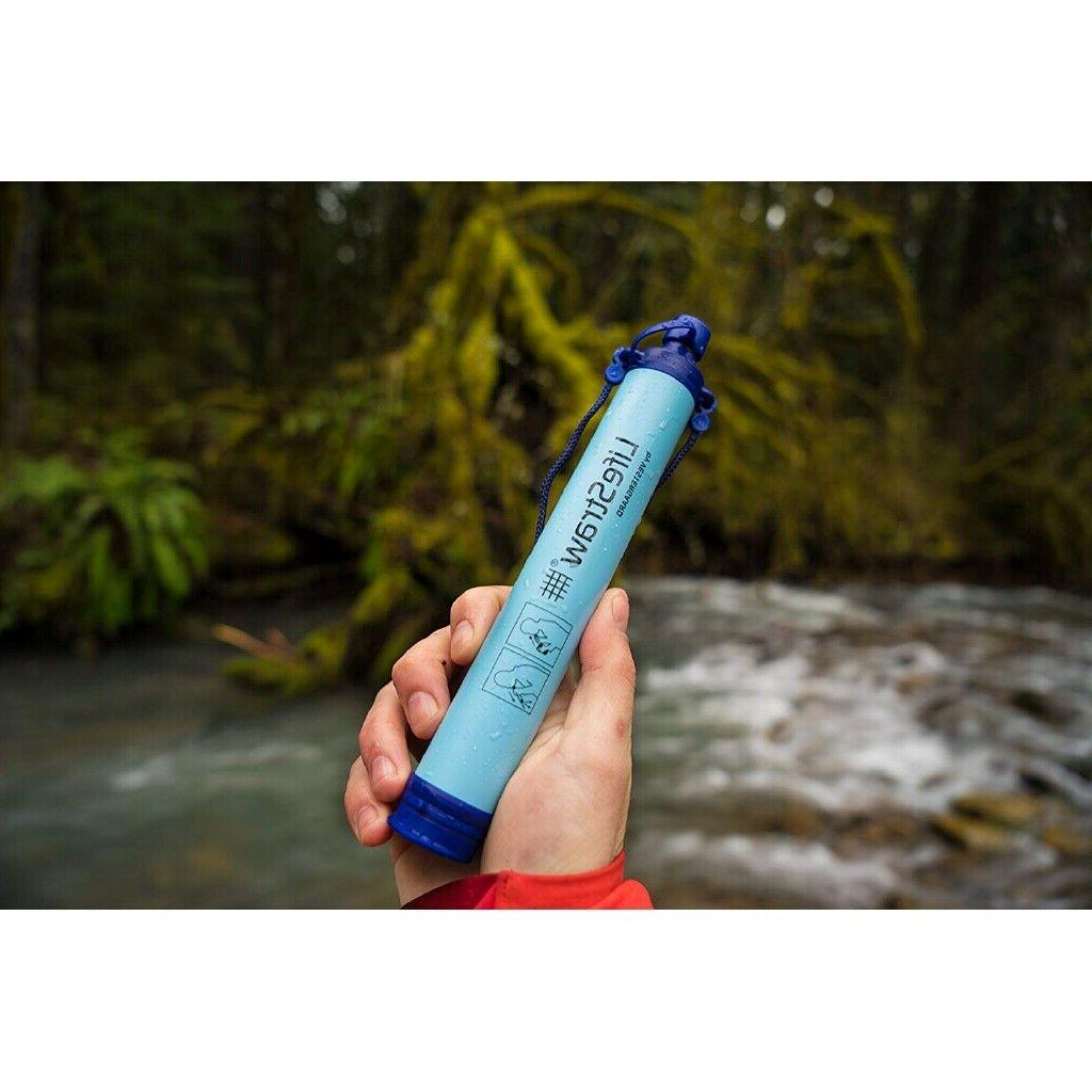 LifeStraw Personal Water Filter for Emergency