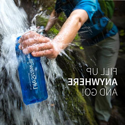 LifeStraw Water Filter Backpacking, and Travel,