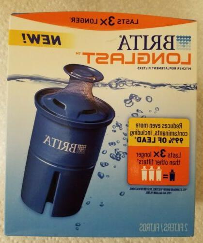 Brita Longlast Filter, BPA-Free,