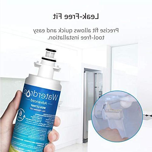 Waterdrop 53&42 Certified Refrigerator Water with KENMORE 469690, 9690, Advanced, 3
