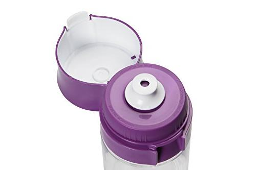 MAVEA MicroDisc Filter Bottle, Purple