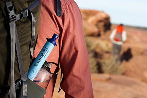 LifeStraw for Hiking, Camping, and Emergency