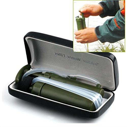 portable army soldier water filter