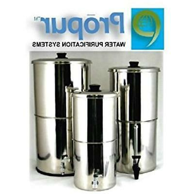 propur pitcher water filters traveler stainless steel