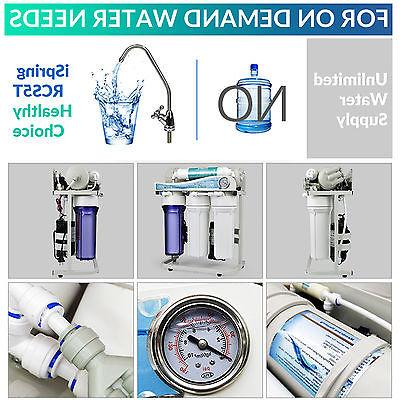 iSpring Commercial Reverse Tankless Water Filter System