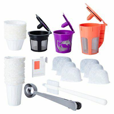 Reusable K Cups and Carafe for Keurig 2.0 Bundle with Water