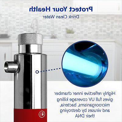 Ultraviolet Water Filter RO Undersink – 12 Housing 10