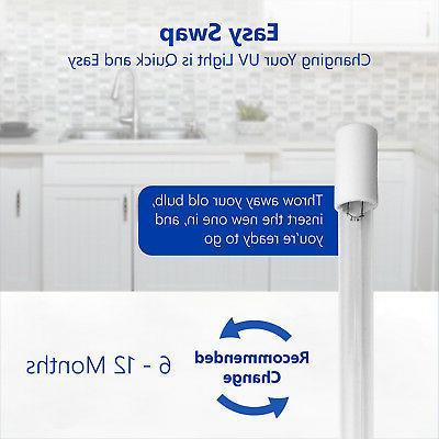Ultraviolet RO 12 Housing 10 Bulb