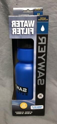 Sawyer Products SP140 Personal Water Bottle Filter, 34-Ounce