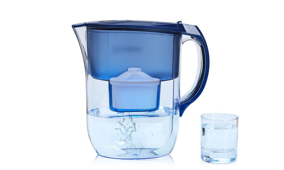 4 Water Filter Pure Healthy Blue