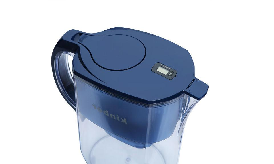 4 Liters Water Pitcher with Filter Healthy Blue