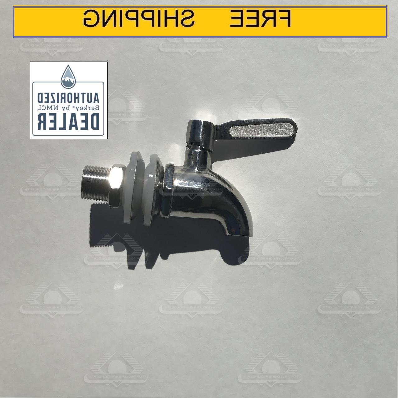 stainless steel spigot