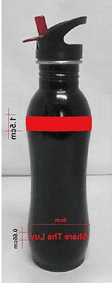 Stainless Steel Water Filter Bottle removes chemicals, patho