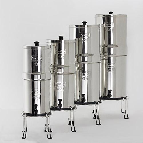 Berkey Steel Stand with Rubberized Feet Berkey and Other Sized Gravity Water Filters