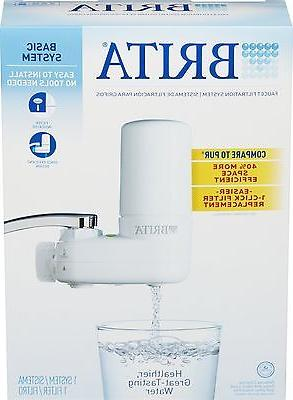 Brita Faucet Sink Filtration Purifier Cleaner Removal Treatment