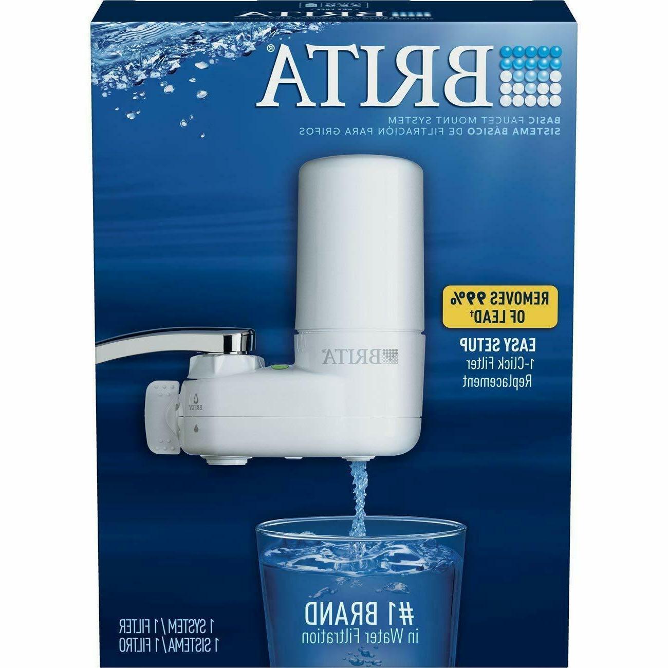 Brita Water System Water Faucet w/ Filter
