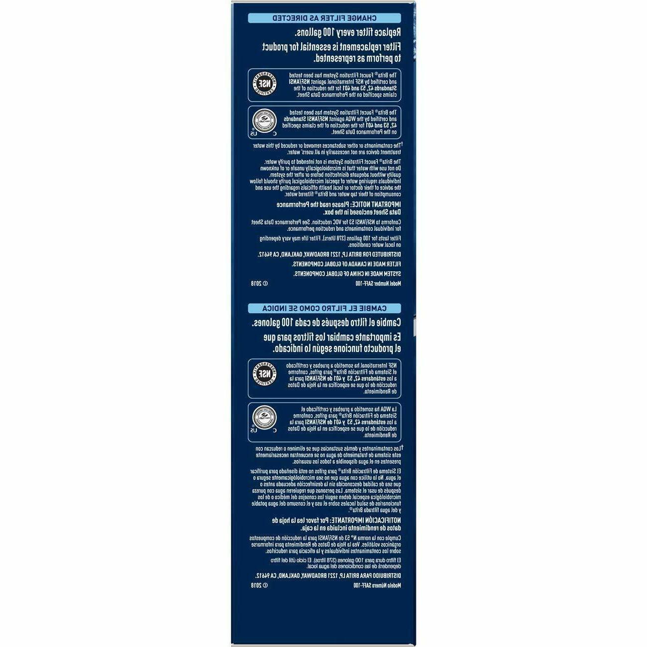 Brita System Faucet w/ Filter
