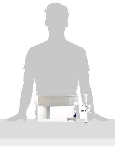 Brita Water Filter Dispenser, 18 Cup, ea