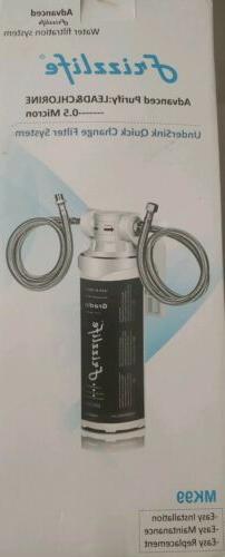 Frizzlife Under UnderSink & Countertop Filtration Sink Water