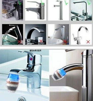 Water Filtration Tap Kitchen 16-19mm Sink Bathroom