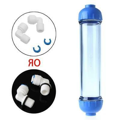 Water Filter Housing Fill Tube
