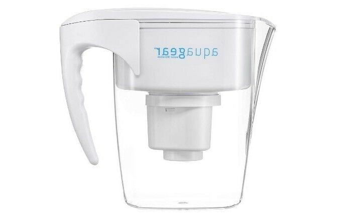 water filter pitcher style fluoride lead chloramine