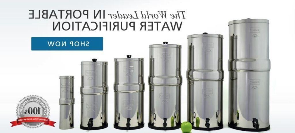 Berkey Water System EMPTY HOUSING -Big,Travel,Royal,Imperial,Crown,Light