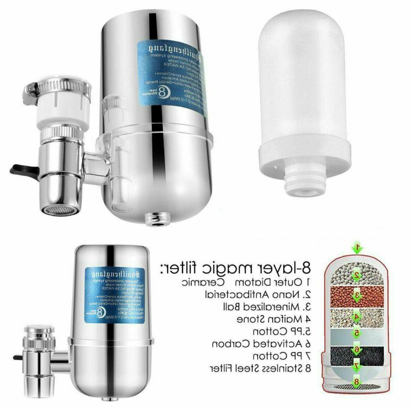 System 8-Layer Kitchen Home Mount Filtration Purifier