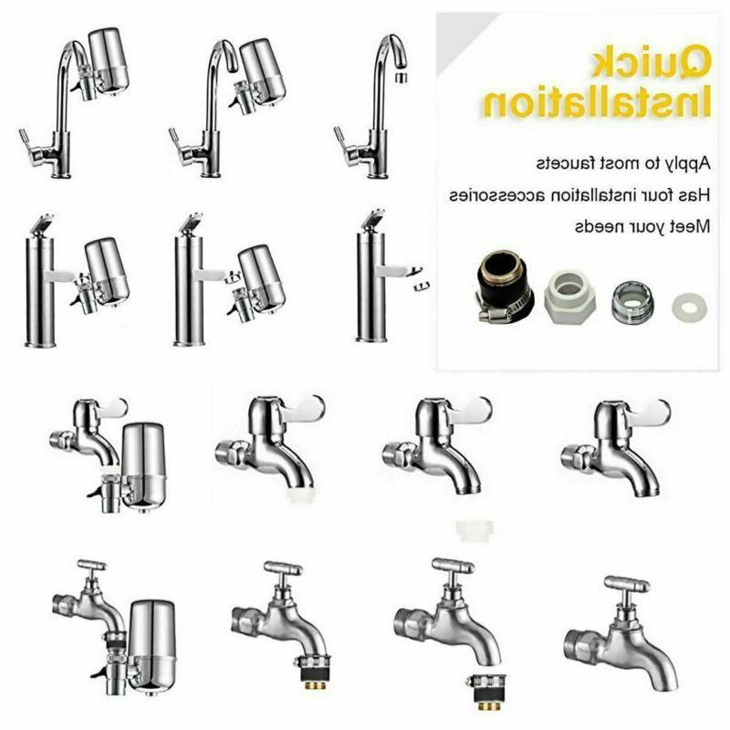 Water Filter Faucet Mount
