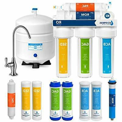 Water Filtration System NSF Certified 5 Stage RO Water Filte