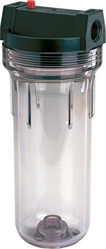 American Plumber WC34-PR Standard Clear Housing with Pressur