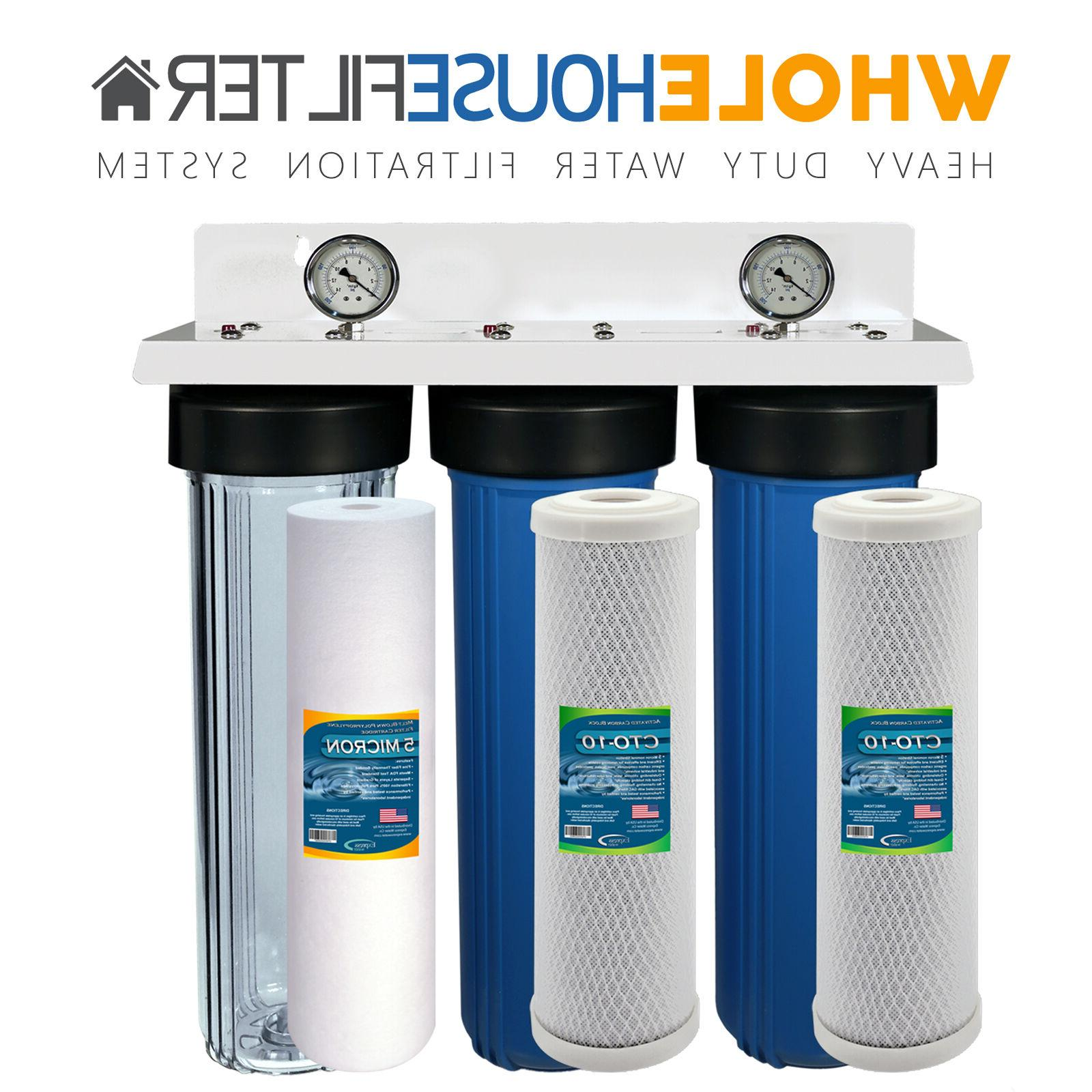Whole Water Filter System Stage