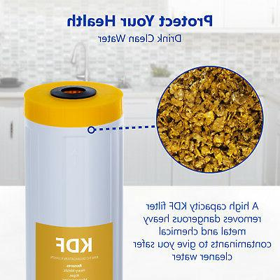 """Whole House Water Replacement Cartridge KDF + Catalytic 20"""""""