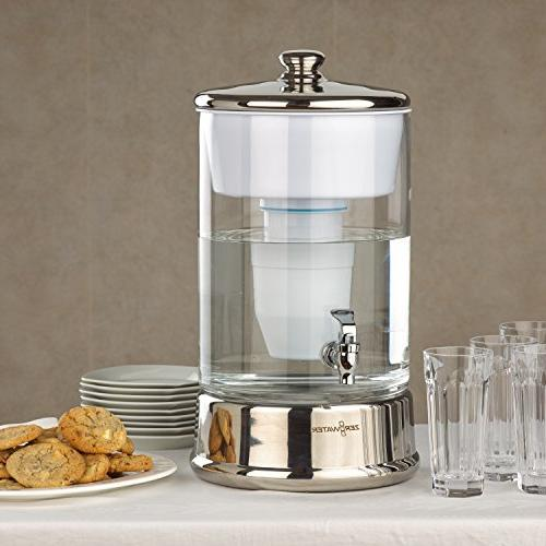 ZeroWater Glass Dispenser BPA-Free Free Quality NSF Lead and Metals