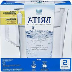 Brita Lake Model Color Series 10 Cup Capacity Water Pitcher