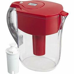 large 10 cup water filter pitcher