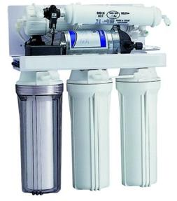 Light RO Water Filter System Plus Booster Pump with Designer
