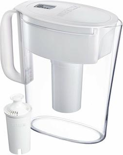 Brita Longlast Filter Water Pitcher 6 cup - White